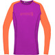 Norrøna Fjørå Equaliser Lightweight maglietta a maniche lunghe Donna arancione/rosa